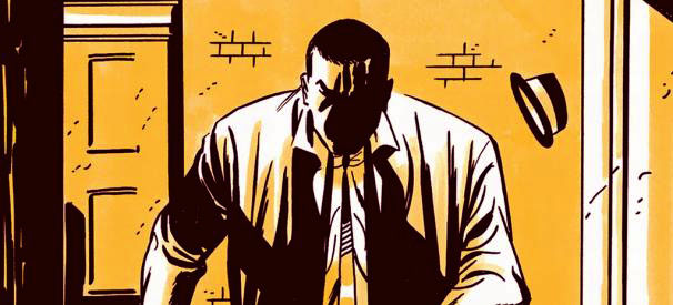 "Detail from ""Richard Stark's Parker: The Score"" — art by Darwyn Cooke"